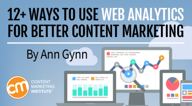 12 ways to use web analytics for better content marketing