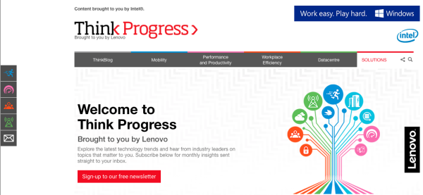 Lenovo - think progress