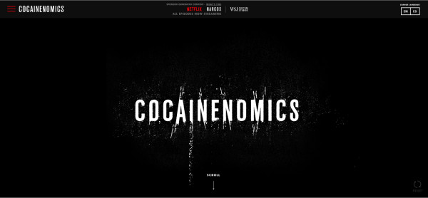 cocainenomics-website