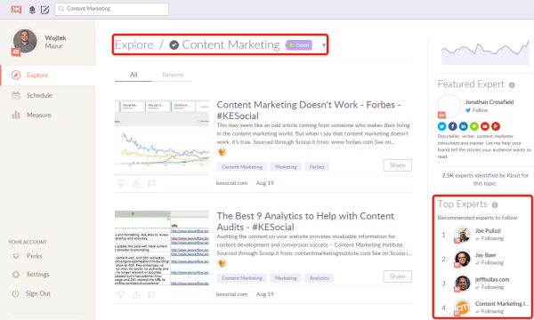 klout-screenshot