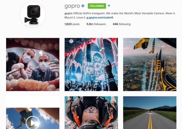 Instagram-gopro