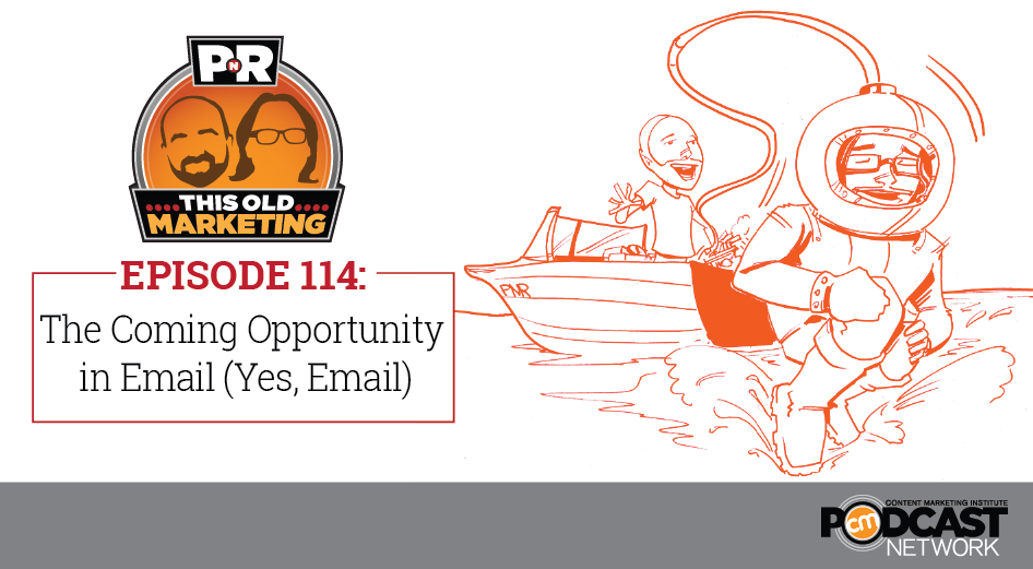 This Week in Content Marketing: The Coming Opportunity in Email (Yes, Email)