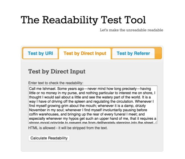 How can I improve my readability on my essay?
