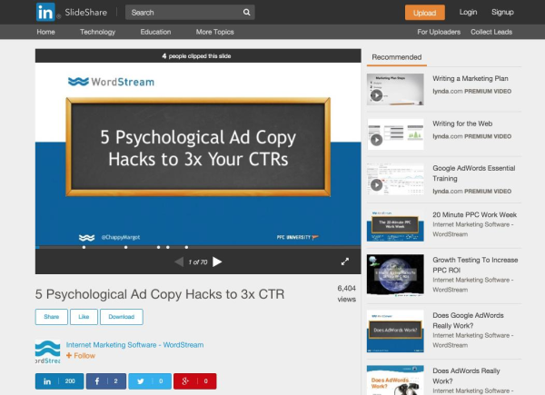 WordStream-article-slideshare