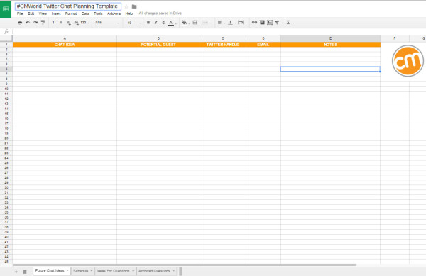 cmi-twitter-chat-planning-template