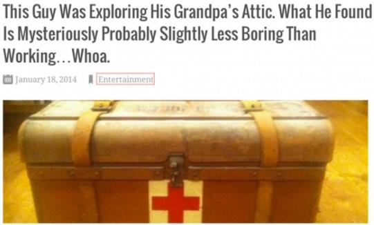 Clickbait-headlines