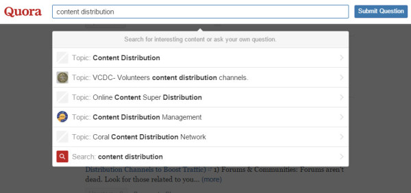content-promotion-quora-search