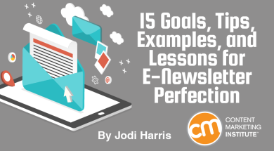15 goals tips examples and lessons for e newsletter perfection