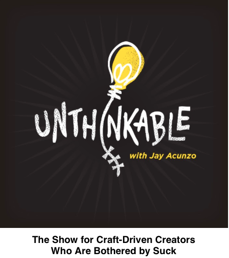 unthinkable newsletter launch