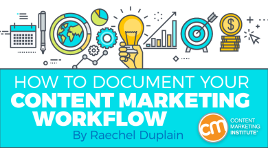 How To Document Your Content Marketing Workflow - How to write a workflow document