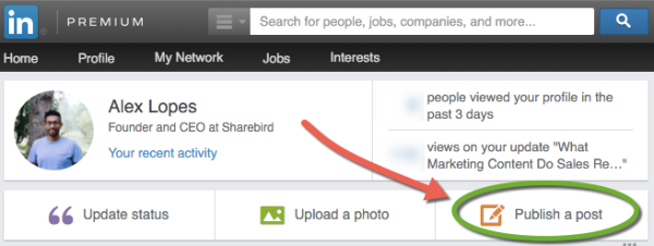 LinkedIn-Publish-A-Post