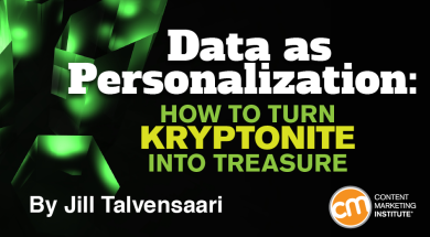 data-as-personalization