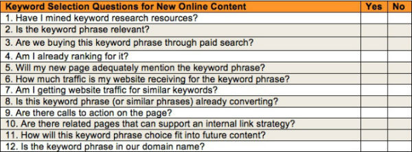 Seo Content Plan Tips