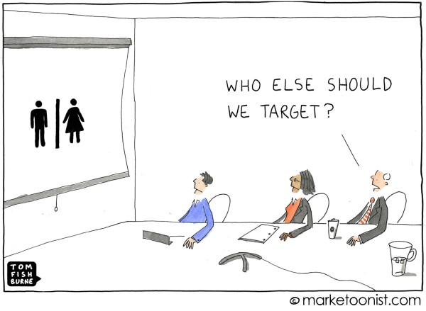 Narrow Your Persona- Marketoonist