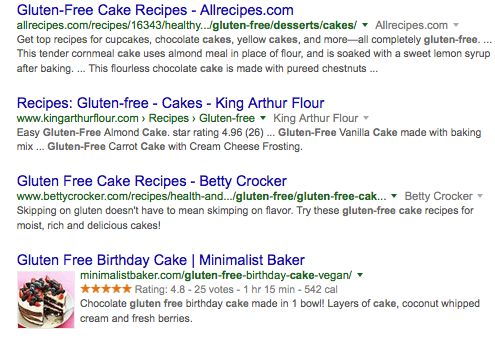 Rich Search Results