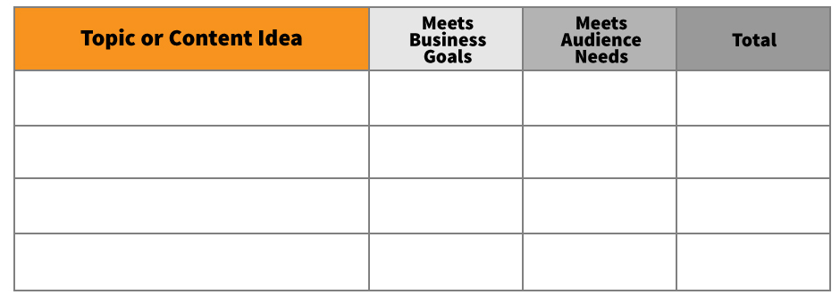 Use Excel As A Tool To Make Rapid Decisions