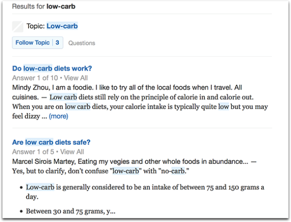 Quora-Search-Keyword