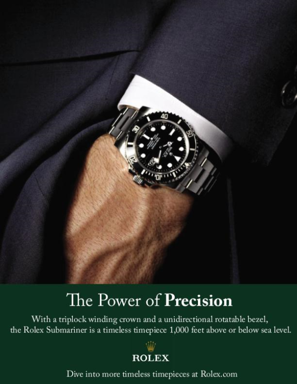 Rolex-Precision