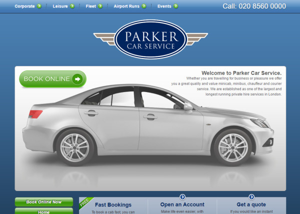 parker-car-service-website-example