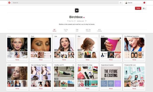 Birchbox-Pinterest