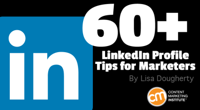Linkedin Profile Tips 60 Ideas For Marketers