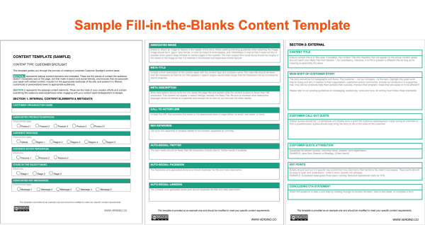content-template-sample