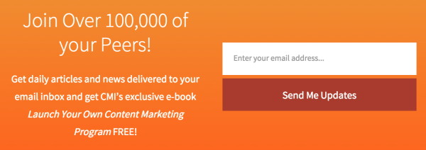 How to build your email list the better than ultimate guide end of post sign ups cmi fandeluxe Image collections