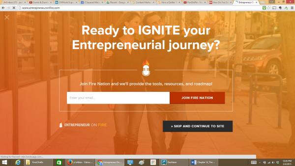 Entrepreneur-On-Fire