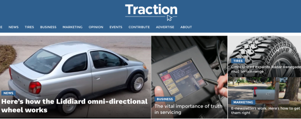 Traction news copy