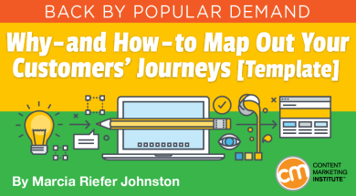 Why And How To Map Out Your Customers Journeys Template - Customer journey map template