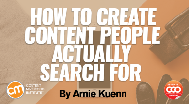 How to Create Content People Actually Search For