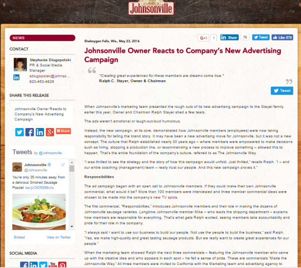 johnsonville-website-example