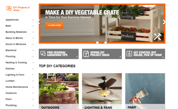 Home-Depot-DIY-projects