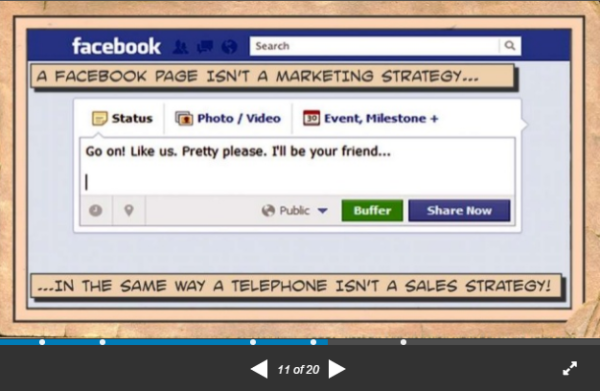 crossfield-slideshare-facebook-not-content-marketing-strategy