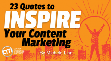 23 Quotes to Inspire Your Content Marketing and the ...