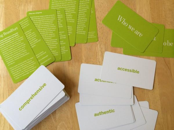 Adjective-cards