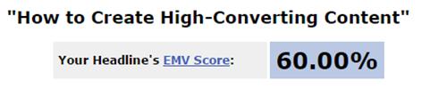 EMV-Score