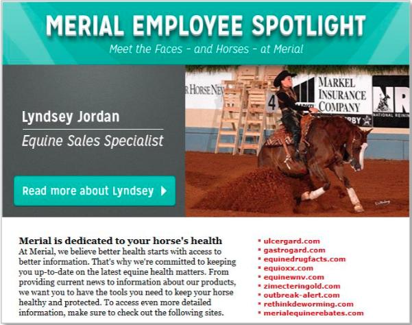 Merial employee spotlight