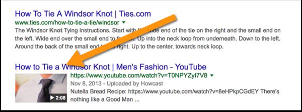 Videos-rank-google-search-results