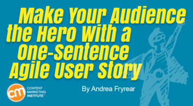 audience-hero-one-sentence-agile-user-story