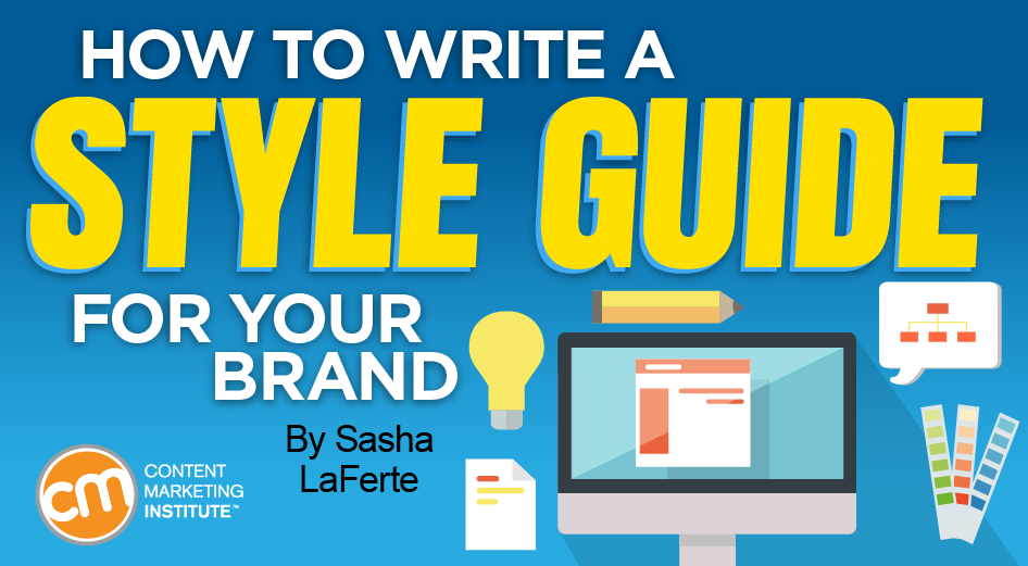 style guide writing for your brand Written Content style guide table of contents