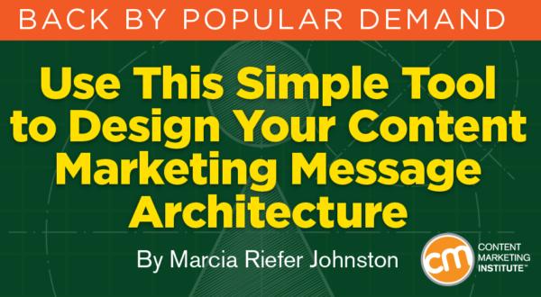 Een solide basis voor al je content: message architecture