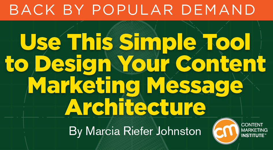 Fun brand message architecture tool use for your content for Marketing for architects and designers