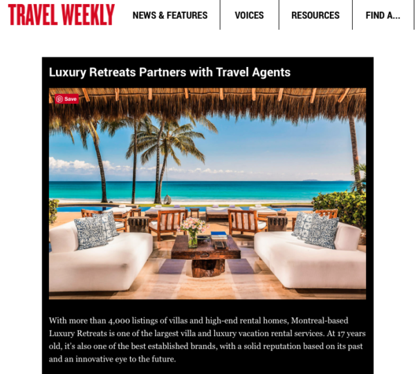 Travel weekly - luxury