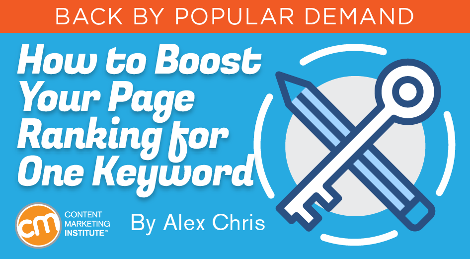 How To Boost Your Page Ranking For One Keyword