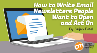 how to write email newsletters people open act on