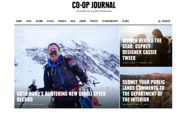 rei-co-op-journal-website