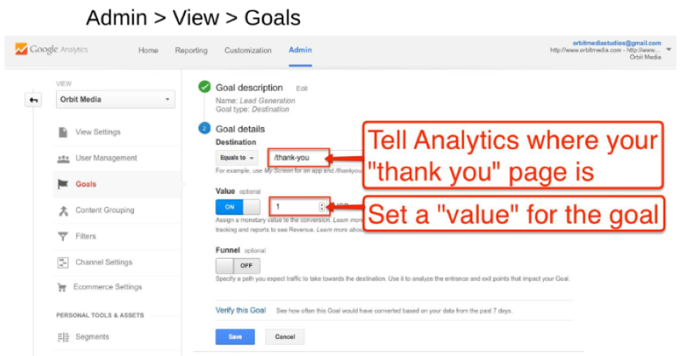 add-goals-to-thank-you-page