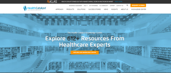 health-catalyst-website-example