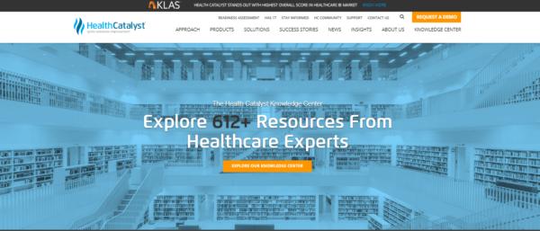 health-catalyst-website-example